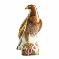 New Royal Crown Derby 1st Quality Limited Edition Golden Eagle Paperweight