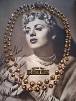 VINTAGE 1950s GOLD AURORA BOREALIS DOUBLE STRAND LONG CZECH NECKLACE GLITZY