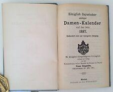Königlich Bayerischer Adeliger Damenkalender 1887, Adelsbesitz  Wittelsbach
