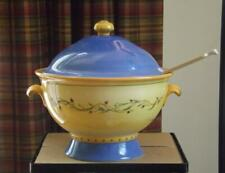 """Pfaltzgraff Pistoulet Large Tureen With Ladle 11"""" Wide"""