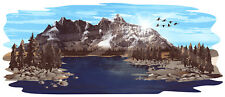 1 RV TRAILER CAMPER HEARTLAND N COUNTRY MOUNTAIN SCENE DECAL GRAPHIC-2028