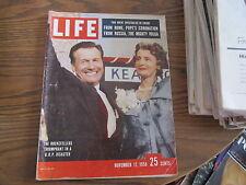 Life magazine November 17 1958 COMPLETE Rockefellers