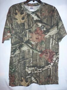 MOSSY OAK Youth TShirt Brown Tone Tree Camo (Camouflage) Size Sm NEW w/ Tags