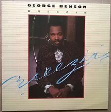 GEORGE BENSON   Breezin'   RARE German press '76 Warner Bros label vinyl LP  Ex!