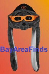 San Francisco Giants Lou Seal Flipper Beanie 7/24 2021 SF Two Flaps Down Hat Cap