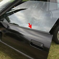 C4 Corvette Lower Outer Window Door Panel Seal Kit Includes Both Sides 84-96