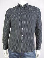 Macbeth Mens Pasadena Long Sleeve Shirt sizes Small Medium Large XL Black