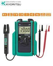 Kyoritsu Kewmate 2000a Digital Multimeter With Ac Dc Clamp Sensor Fastship Japan
