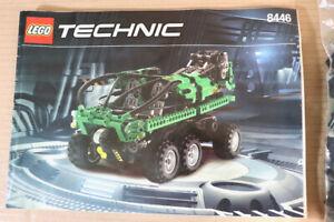 LEGO 8446 TECHNIC MONSTER CRANE TRUCK SET