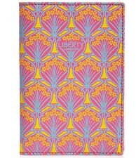 Liberty of London Pasaport Holder in Iphis Canvas Pink New Sale