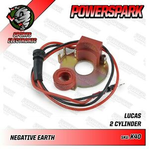 Matchless G12 58-66, G9 48-58 Neg Earth Ignition Kit Replaces LU425219 in 18D2