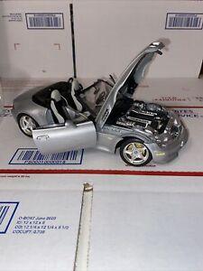 Burago BMW M Roadster 1:18 Diecast 1996 Silver