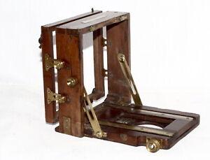 1890 J Lancaster Instantograph folding camera for spares or full restoration