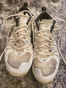"Nike Lunar Tr1 LE ""Oregon"" Silver/White/Black Trainers 654283-001 Size 11.5"