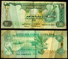 UNITED ARAB EMIRATES (U.A.E) - 2013 - 10 Dirham Banknote - F