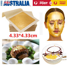 10x24 Karat Edible Gold Leaf Foil Food Decor Cake Decoration Edible Face Beauty