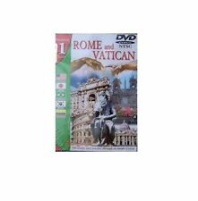 Rome And Vatican DVD In 5 Languages SEALED BRAND NEW Portuguese English Japanese