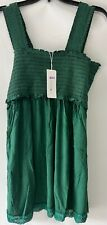Belly Moms Girls Dress Green Extra Large