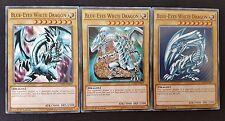 Yugioh - Blue-Eyes White Dragon Set (LDK2-ENK01) (Common) (1st Ed) (M/NM)