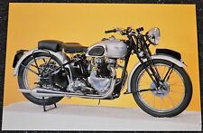 Classic 1939 500cc TRIUMPH Tiger . Motorcycle Postcard new