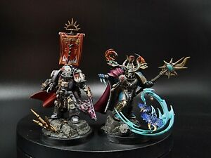 Warhammer Hexfire boxset pro painted made to order grey knights / Thousand Sons