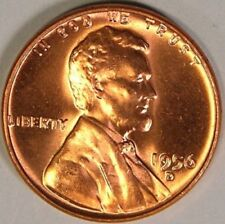 1956-D Wheat Cent Penny Pennies BU / Uncirculated