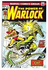THE POWER OF WARLOCK #8 - 1973 Marvel - Roy Thomas & Bob Brown - Fine