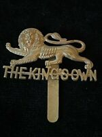 The Kings Own Lancaster Regiment  Cap Badge 100% Genuine Military Army O5/14