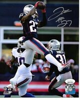 J.C. Jackson New England Patriots Autographed hand Signed 8x10 photo JSA