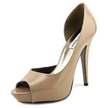 Zapatos de tacón de mujer Steve Madden color principal crema sintético