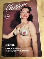 Vintage collecatble glamour rare Magazine 'Charm' no28 1950's/1960's photography