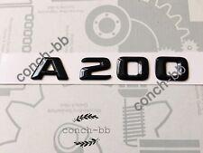Mercedes A200 Badge Emblem Decals New Style Gloss Black