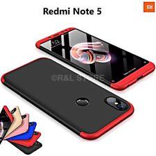COVER per Xiaomi Redmi Note 5 Fronte Retro 360° CUSTODIA ORIGINALE ARMOR CASE