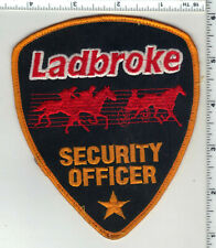 Ladbroke Security Officer (Meadows Casino, PA) 1st Issue Uniform Take-Off Patch