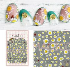 Daisy flower nail sticker/ Daisy Nail Art Stickers Self Adhesive Decal
