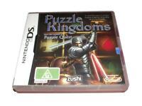Puzzle Kingdoms Nintendo DS 2DS 3DS Game *Complete*