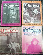 1926 LOTTO DI 4 RIVISTE LETTERARIE 'IL DRAMMA'
