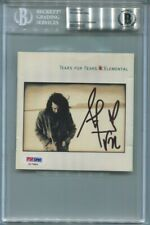 ROLAND ORZABAL signed autographed TEARS FOR FEARS CD COVER BECKETT (BAS) RARE!