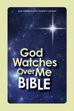 God Watches Over Me Bible-NIRV by Zondervan Pub Glow in Dark hardcover Book kids