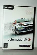COLIN MCRAE RALLY 3 GIOCO USATO OTTIMO PC CDROM VERSIONE ITALIANA GD1 39715
