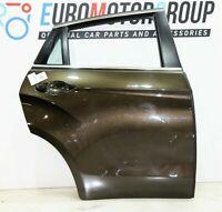 BMW Porta Posteriore Destro Finestra Sollevatore X6 F16 F86 Pyritbraun Metallico