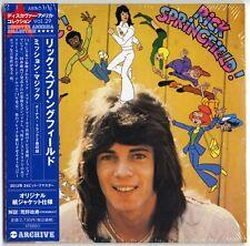 RICK SPRINGFIELD-MISSION MAGIC-JAPAN MINI LP CD BONUS TRACK F83
