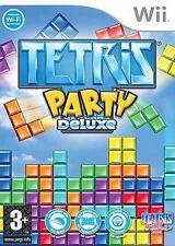 Tetris Party Deluxe (Nintendo Wii, 2010) - European Version
