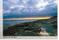 CARTOLINA SICILIA MAGANUCO POZZALLO SPIAGGIA MARE SEA BEACH SICILY POSTCARD