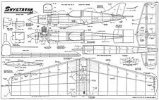 Skystreak 40 modelli di piano e parti