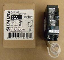 x ITE 20 amp circuit breaker Q120AFH 120 Volt Single Pole NIB