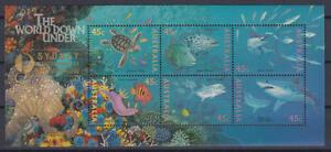 Australien - Michel-Nr. Block 20 II postfrisch/** (Unterwasserwelt / Sea Life)