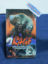 Rage The Werewolf Trading Card SEALED BOX Game Booster Pack Unlimited Edition