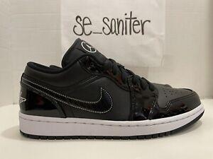 Nike Air Jordan 1 Low SE All Star Weekend Black/White DD1650 001 Men's Size 9