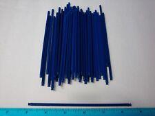 "MICRO KNEX Red 2 1//2/"" Rods /& Connectors 50 Ea = 100 Bulk Mini Parts Pieces Lot"